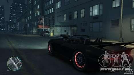Red Neon  Banshee für GTA 4 rechte Ansicht