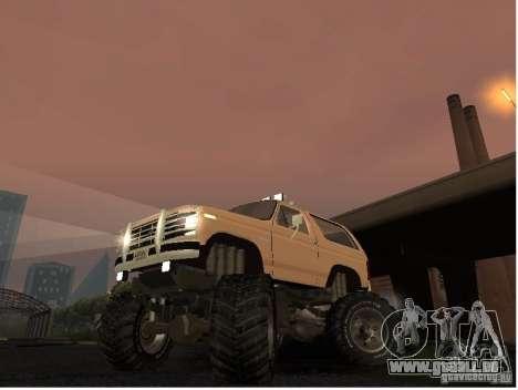 Ford Bronco IV Monster für GTA San Andreas