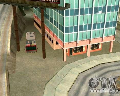Véhicules stationnés v2.0 pour GTA San Andreas troisième écran