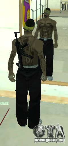 Vagos Gang Skins pour GTA San Andreas