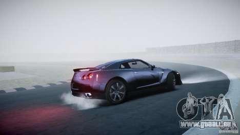 Nissan GT-R R35 V1.2 2010 pour GTA 4 Vue arrière