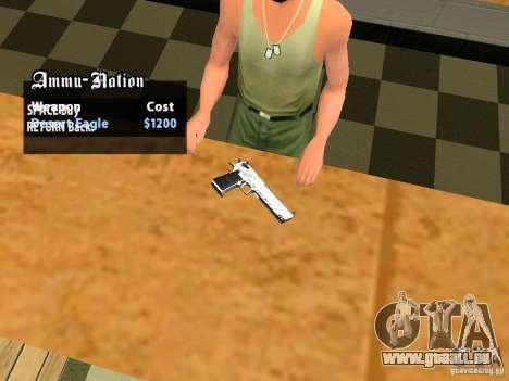 TeK Weapon Pack für GTA San Andreas neunten Screenshot