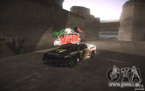 Ford Mustang Monster Energy pour GTA San Andreas