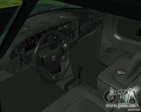 Saab 900 Turbo 1989 v.1.2 pour GTA San Andreas vue de dessus