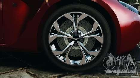 Aston Martin V12 Zagato 2011 v1.0 für GTA 4 Seitenansicht