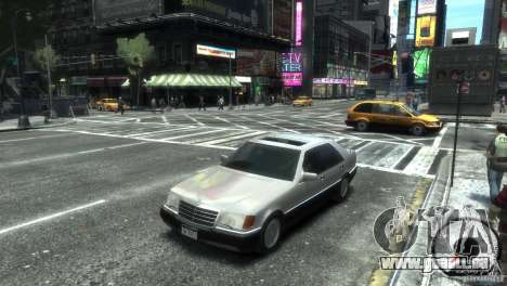 Mercedes-Benz 600SEL wheel2 tinted für GTA 4 hinten links Ansicht
