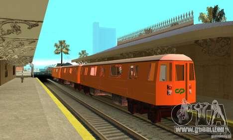 Liberty City Train CP pour GTA San Andreas