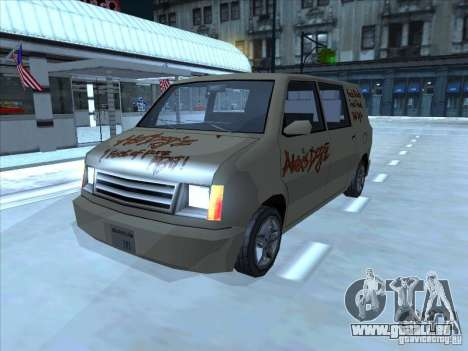 Hot Dog Moonbeam pour GTA San Andreas laissé vue
