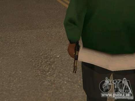 Pistolet 9 mm pour GTA San Andreas troisième écran