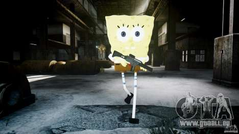 SpongeBob für GTA 4 neunten Screenshot