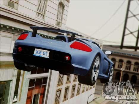 Porsche Carrera GT pour GTA San Andreas moteur