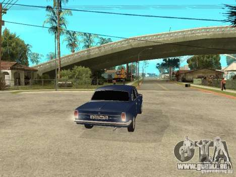 GAZ 24-10 pour GTA San Andreas sur la vue arrière gauche