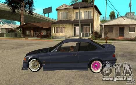 BMW E36 M3 Street Drift Edition pour GTA San Andreas laissé vue