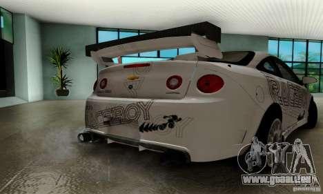 Chevrolet Cobalt SS pour GTA San Andreas salon