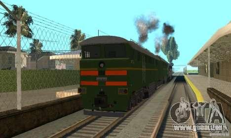 Locomotive 2te116 pour GTA San Andreas