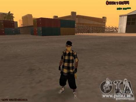 Vagos Skins pour GTA San Andreas