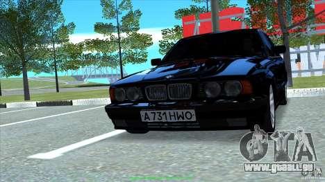 BMW E34 V1.0 pour GTA San Andreas vue de droite