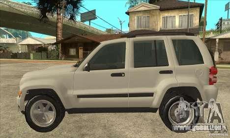 Jeep Liberty 2007 Final für GTA San Andreas linke Ansicht