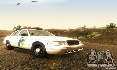 Ford Crown Victoria New Jersey Police für GTA San Andreas