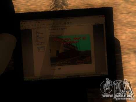 CADDY restylage de v1.0 pour GTA San Andreas vue de droite