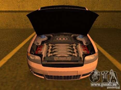 Audi S4 OEM pour GTA San Andreas vue arrière