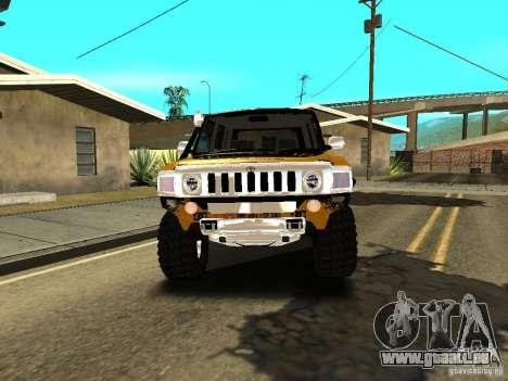 Scion xB OffRoad pour GTA San Andreas vue arrière