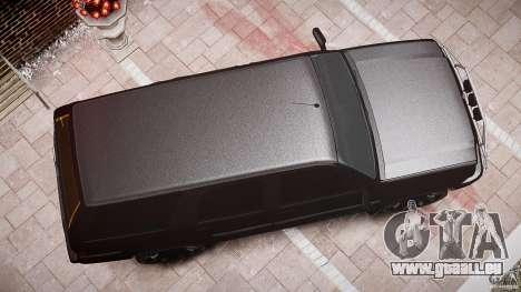 Cavalcade FBI car für GTA 4 obere Ansicht