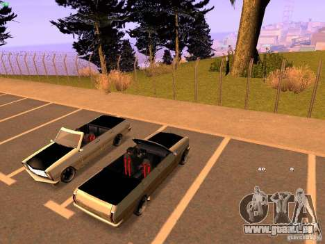 New Perennial für GTA San Andreas rechten Ansicht