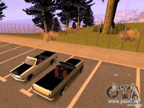 New Perennial pour GTA San Andreas vue de droite
