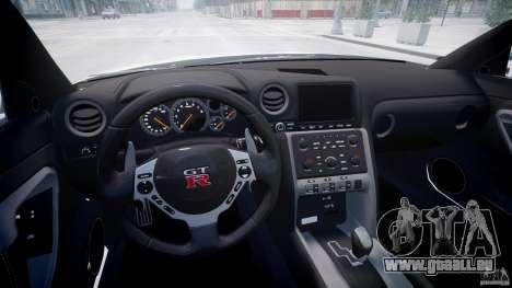 Nissan GTR R35 SpecV v1.0 für GTA 4 Seitenansicht