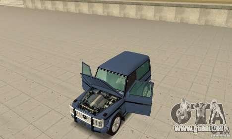 Mercedes-Benz G500 1999 Short [with kangoo v1] pour GTA San Andreas vue arrière