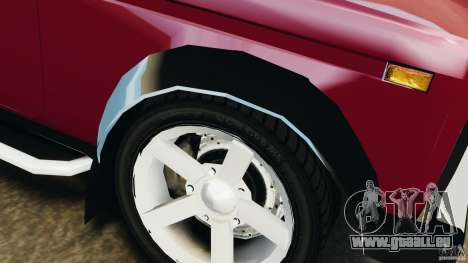 Vaz-21214 Niva (Lada 4 x 4) pour GTA 4 roues