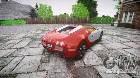Bugatti Veyron Grand Sport [EPM] 2009 pour GTA 4 est un côté