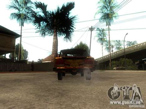 VAZ 2106 du jeu S.T.A.L.K.E.R. pour GTA San Andreas sur la vue arrière gauche