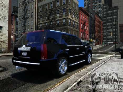 Cadillac Escalade v3 pour GTA 4 est un droit