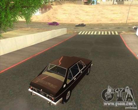 Tatra 613-2 pour GTA San Andreas sur la vue arrière gauche