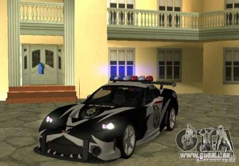 Chevrolet Cross Corvette C6 pour GTA San Andreas