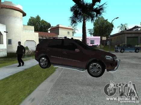 Mercedes-Benz ML500 pour GTA San Andreas laissé vue