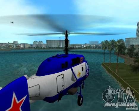 Ka-27 pour une vue GTA Vice City de la gauche