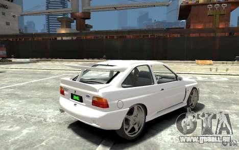 Ford Escort Cosworth für GTA 4 rechte Ansicht