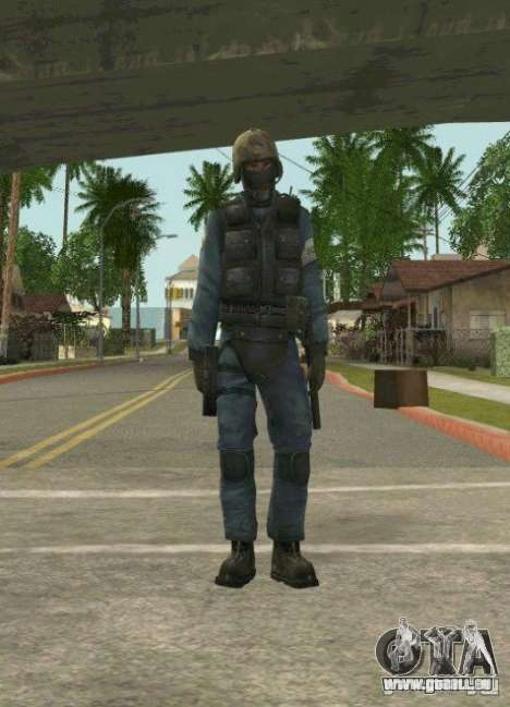 Counter-terrorist für GTA San Andreas fünften Screenshot