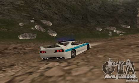 Jester Russian Police pour GTA San Andreas vue intérieure
