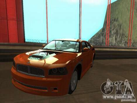 Dodge Charger From NFS CARBON pour GTA San Andreas