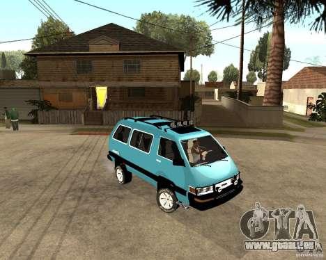 Toyota Town Ace pour GTA San Andreas laissé vue