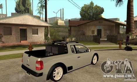 Volkswagen Saveiro G5 für GTA San Andreas rechten Ansicht