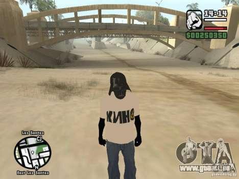 FILM Mike pour GTA San Andreas deuxième écran