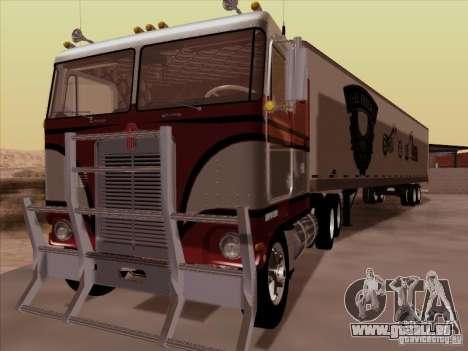 Kenworth K100 pour GTA San Andreas laissé vue