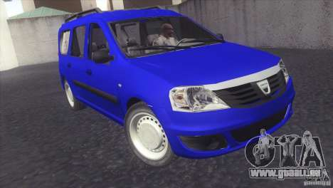 Dacia Logan MCV Facelift pour GTA San Andreas