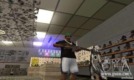 Heckler & Koch HK-33 pour GTA San Andreas troisième écran