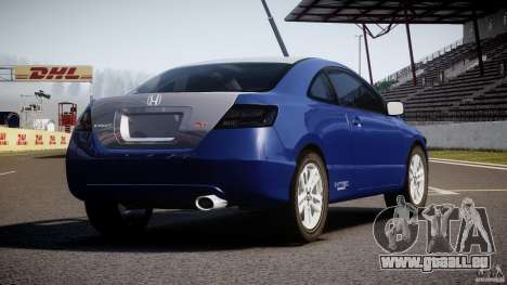 Honda Civic Si Coupe 2006 v1.0 pour GTA 4 est un côté